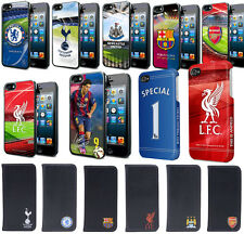 Official Football Club Iphone Ipad Hard Case or Leather Cover Various Styles