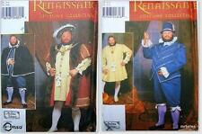 OOP Simplicity Sewing Pattern Mens Renaissance Costume Size 43 47 51 Your Choice