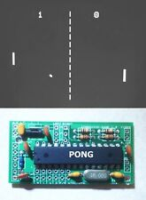 Arcade Game Module: Select Pong, Space Invaders, Asteroids and more!