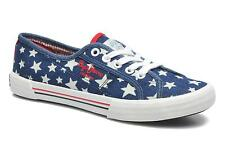 Women's Pepe jeans Aberlady Jean Star Low rise Trainers in Multicolor