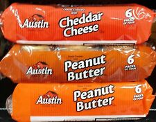 Austin Sandwich Filled Crackers Snack Size ~ One Package