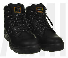 NEW Mens Black Safety Boots Trainers Work Shoes | STEEL Toe Cap Sizes 9-13