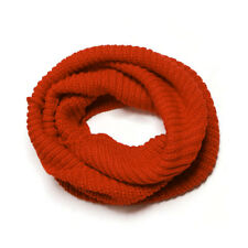 Women Soft Warm Winter Wearing Neck Circle Knitted Scarf