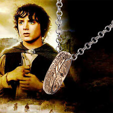 LORD OF THE RINGS THE ONE RING TO RULE THEM ALL NECKLACE PENDANT CHAIN HOBBIT