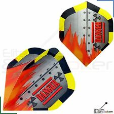 1/3/5/10/20 Sets Metronic Poly Nuclear Danger Dart Flights Standard Strong