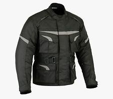 Mens Adventure Dual Sport Textile Motorcycle Jacket by altimate waterproof