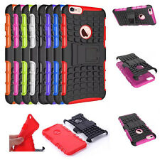 Hybrid Protective Grip Rugged Durable Case Kickstand Cover For Apple Devices