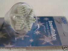 Snowflake Sugarcraft cutter snowflakes sugar paste plunger snow craft cutters