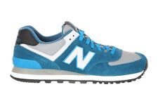 New Balance Mens 574 Sneakers Blue Bright Blue White ML574CPD