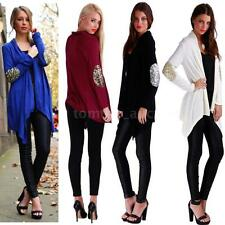 Women's Open Front Casual Cardigan Long Sleeve Slim loose Tops Jacket Coat A1MD