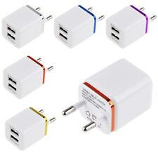 3.1A Dual 2Ports USB EU Wall Charger Power Adapter for Smart Phone Tablet PDA