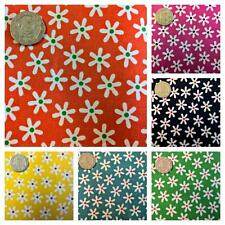 Funky Floral Fabric 100% Cotton Flowers Material.