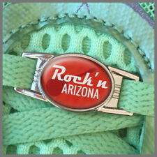 ROCK 'n' ROLL Rock and Roll Half Marathon Hand Crafted 2015 2016 Shoe Lace Charm