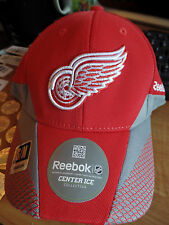 Detroit Red Wings NHL Center Ice Collection Flex Hat Cap Lid Hockey Reebok S/M