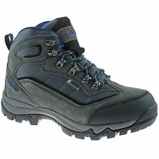 MENS HI-TEC WATERPROOF HIKING BOOTS SIZE 7 - 13 WALK SUEDE CHARCOAL KESWICK