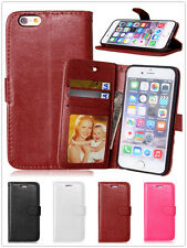 Luxury Card Holder Slot Faux Leather Wallet Cover Case For Various Cell Phones