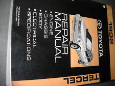 1992 TOYOTA TERCEL Service Shop Repair Manual OEM 92 DEALERSHIP BOOK 1992