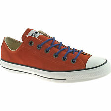 MENS CONVERSE ALL STAR OX CANVAS SHOES SIZE UK 7 - 9 WOMENS SUEDE RUST 132124C