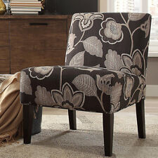 INSPIRE Q Peterson Floral Accent Slipper Chair