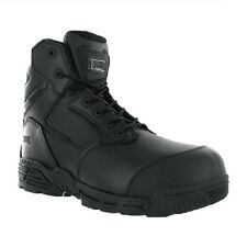 Magnum Stealth Force 6.0 CT CP Safety Toe Cap Side Zip Scuff cap Boots 4-14 UK
