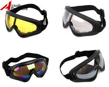 Tactical UV400 Wind Dust Snowboard Ski Goggle Glasses Military Outdoor Paintball