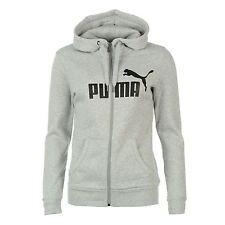 Puma Womens Ladies No1 Logo FZ Hooded Zip Fastening Long Sleeve Hoodie Hoody Top