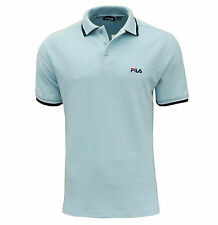 Fila Men's Moriase Polo T Shirt Sky Blue
