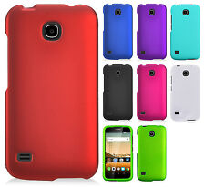 For Huawei Union Y538 HARD Rubberized Protector Case Snap Phone Cover Accessory