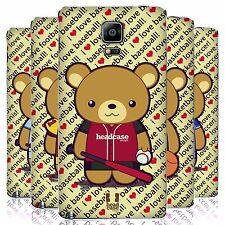 HEAD CASE DESIGNS MR. BEAR SPORTS REPLACEMENT BATTERY COVER FOR SAMSUNG PHONES 1