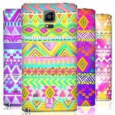 HEAD CASE WATERCOLOURED TRIBAL PATTERNS BATTERY COVER FOR SAMSUNG PHONES 1