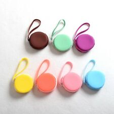 Macarons Round Coin Purse Girl's Candy Colored Mini Lovely Wallet Soft Coin Bag