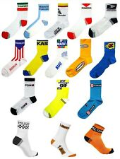 RETRO VINTAGE CYCLING TEAM MADE IN ITALY COTTON BIKE CYCLE SOCKS
