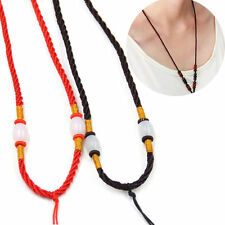 5 Pcs/lot Chinese Hand Knotted Beaded Cord String Necklace For Jade Pendant New