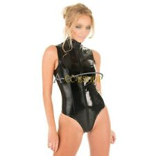 New Women Fashion Sexy Lingerie Bodysuit Wetlook Jumpsuit Bodysuit Clubwear S-XL
