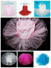 Girl Princess ballet tutu leotard dance dress costume