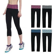 Womens Sports Leggings Fitness Yoga Gym Pants Running Jogging Trouser Pants QW29