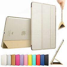 Luxury Magnetic Leather Smart Cover Hard Fold Stand Case for Apple iPad air mini