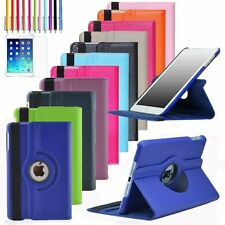 For Apple iPad 2/3/4/mini 1/2/3 360 Rotating Leather Case Smart Cover Stand