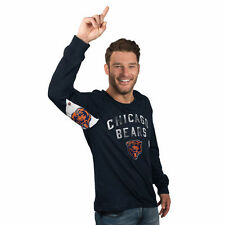 Chicago Bears Hands High Long Sleeve T-Shirt - Navy - NFL