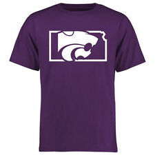 Kansas State Wildcats College Tradition State Short Sleeve T-Shirt - Purple