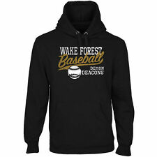 Wake Forest Demon Deacons Ballpark Pullover Hoodie - Black - College