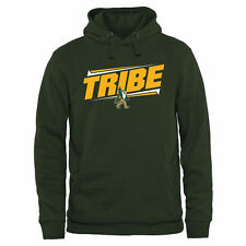 William & Mary Tribe Double Bar Pullover Hoodie - Green - College