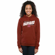 Harvard Crimson Women's Double Bar Pullover Hoodie - Cardinal - NCAA