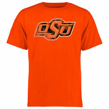 Oklahoma State Cowboys Big & Tall Classic Primary T-Shirt - Orange - College