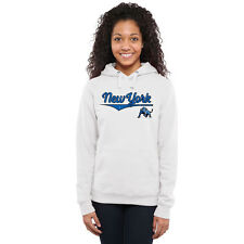 Buffalo Bulls Women's American Classic Pullover Hoodie - White - NCAA