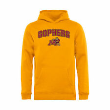 Minnesota Golden Gophers Youth Proud Mascot Pullover Hoodie - Gold - NCAA