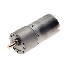 12V DC 5/15/30 RPM 37mm Powerful High Torque Gear Box Motor Speed Reduction