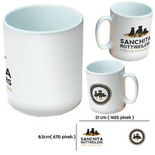 NEW PERSONALISED BUSINESS CUSTOM GIFT WHITE MUG YOUR IMAGE PHOTO TEXT