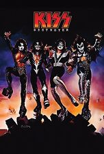 KISS Band Heavy Music Band group Art Print poster (36x24inch) Decor 19