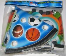 NEW PARTY PACK Hats Blow-Outs Loot Bags Monsters Sports Birthday